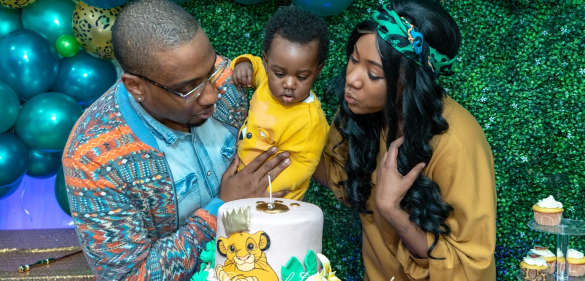 Avery's 1st birthday party @ elegant suite, brooklyn