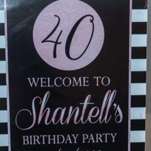 Shantell's 40th Birthday Celebration  @ Space X ,  BROOKLYN Ny