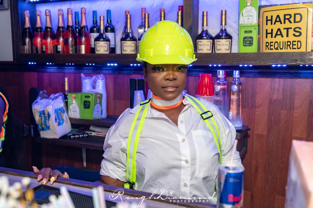 Bridgette Brighteyes Presents Her Construction Affair