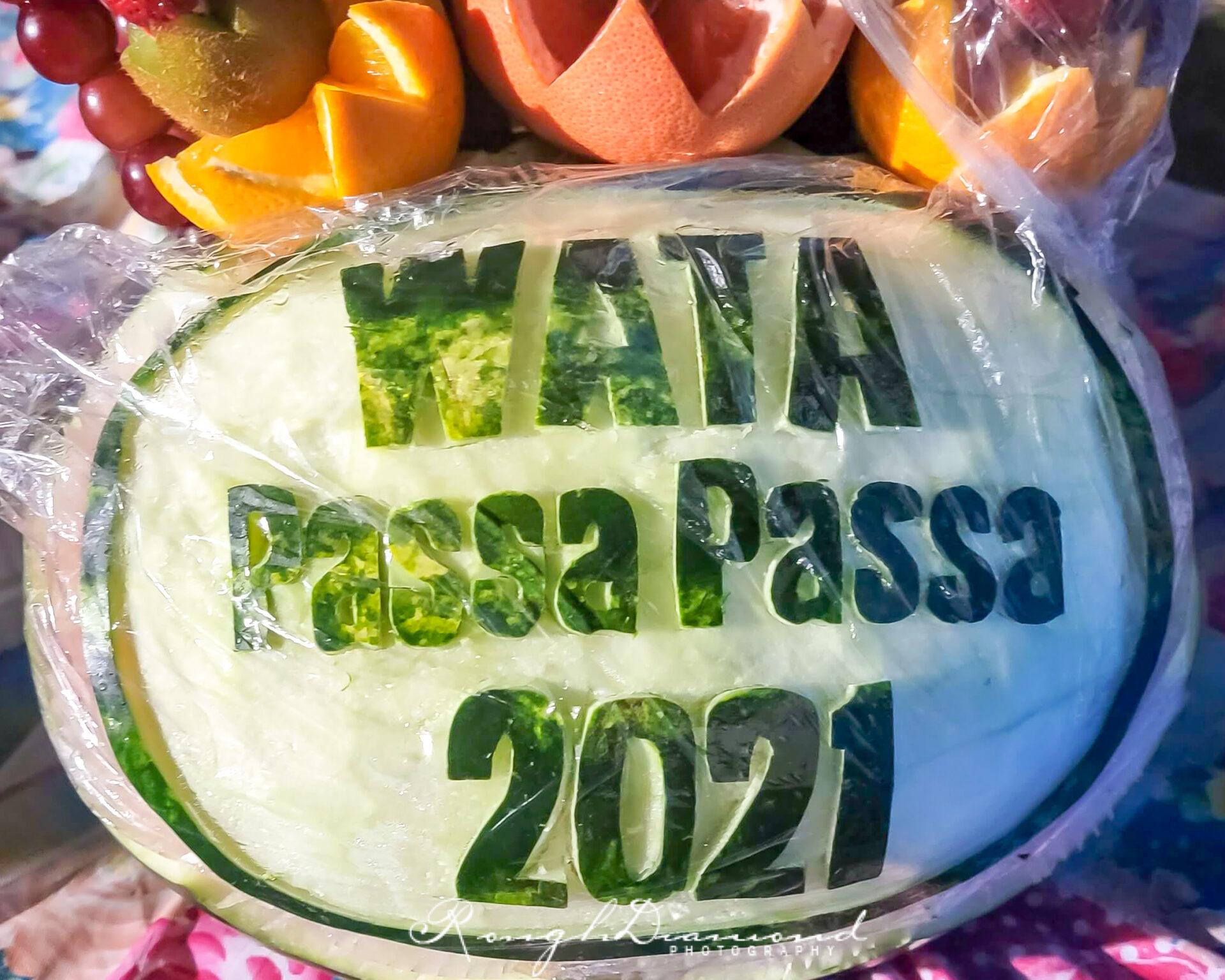 Wata Passa Passa Water Foam Party 2021