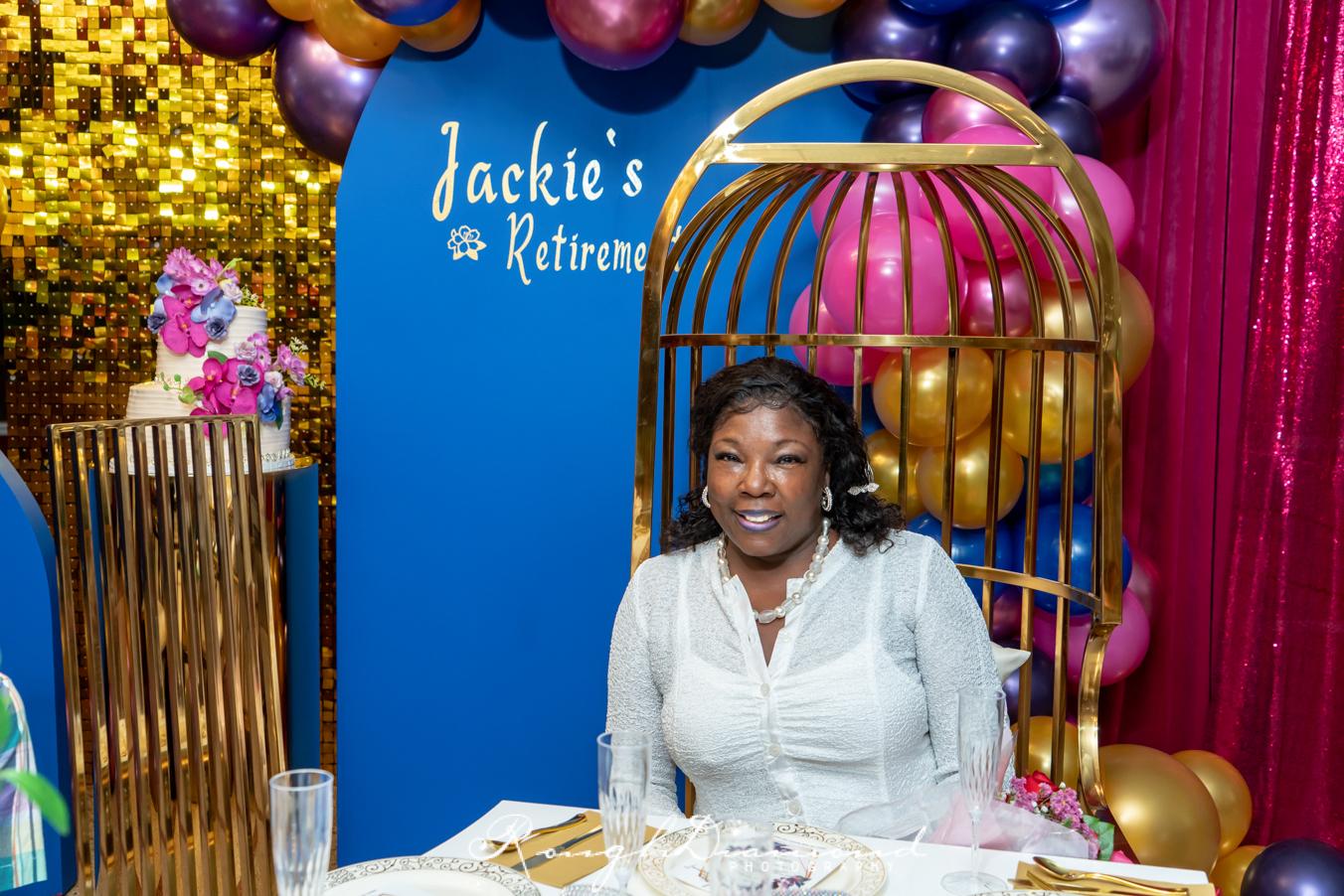 Jackie Robinson's  Retirement Celebration