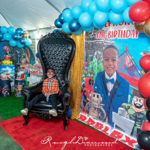 Stephon's 8th Birthday Roblox Party